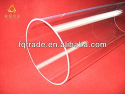 translucent quartz pipe