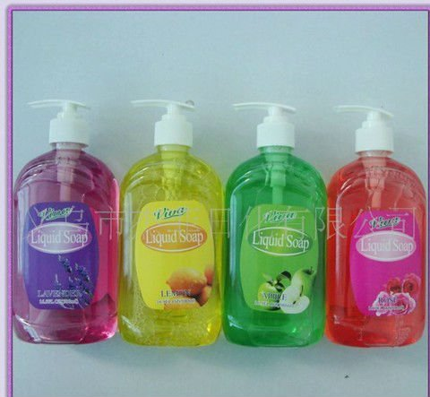 Natural Fruit scented antiseptic liquid hand soap