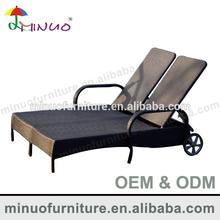 M-3018L fashional design luxury double chaise lounge