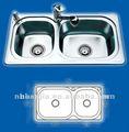Conception indienne de cuisine d'évier industriel d'évier de blanchisserie d'évier de l'eau