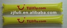 2012 promotion cheap party PE air bang bang stick ,football bang stick