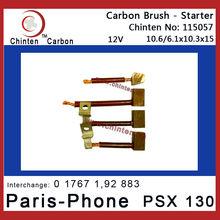 Starter Motor Carbon Brush For Paris-Phone (Valeo) PSX 130
