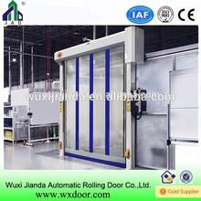 industry Main gate colors Transparent PVC Fast Door