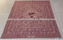 60% Wool 40% Viscose jacquard throw blanket