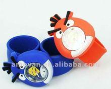 cartoon kids slap watch birds,bee,tiger,rabit