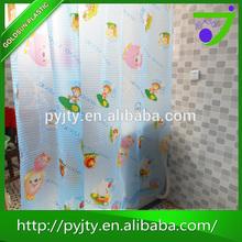 New popular transparent printed peva shower curtain