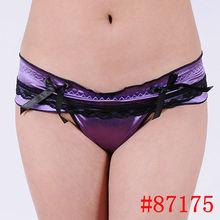 Top sale underwear sexy women's thong see women with thongs ladies satin thong underwear