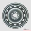 "15x6"" Silver Passenger Car Steel Wheel 4x4 Rim for Sale"