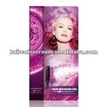 de color rosa temporal tinte para el cabello de color