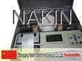 Modelo iij-ii-100kv automáticas de aceite del transformador de kit de prueba