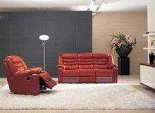 Modern living room recliner sofa, leather recliner sofa set YLR1013