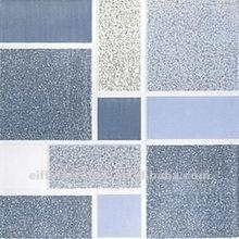 Cheap non slip blue bathroom ceramic floor tile