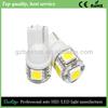 bestop super bright led light car t10 5smd 5050