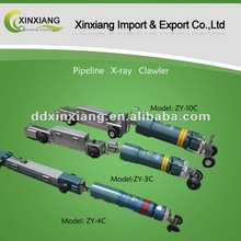 Magnetic control X-ray pipeline inspection system