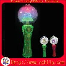 Brand gift Colorful Christmas spinning ball China supply