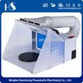 Hseng hs-e420k portátil mini cabina de aerosol con airhose