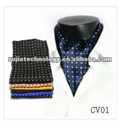 di seta stampato cravatta ascot cravatta