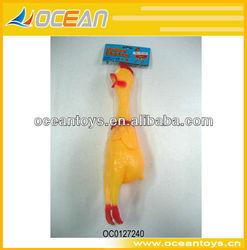 hot selling 41cm shrilling plastic chicken toy OC0127240