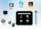 private Hot mp4 player with pedometer,clock, mini clip oem mp3 player