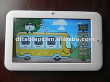 "7"" Android 4.0 multi-touch kids game tablet with educational"