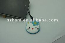 ciao gattino cinghia del telefono mobile