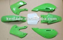 NEW Green Plastic Kit Kawasaki KLX110 KX65 KX 65 KLX DRZ 110 RM65 Suzuki