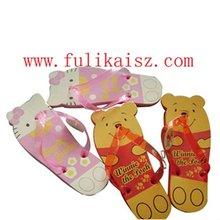 EVA cute Bear slippers kid flip flop