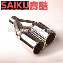 stainless steel universal exhaust mufflers tail