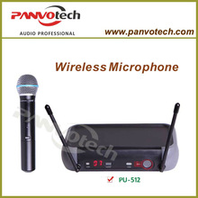 Panvotech UHF wireless microphone single channel with frequency auto scan