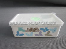 450ml plastic rectangle waterproof food containers