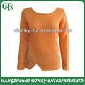 Para mujer 60% de acrílico 40% de lana de nuevo diseño hermoso suéter