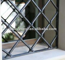 Decoration wrought iron window grille design