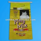 2012 fashion 20kgs PP woven cat feed bag