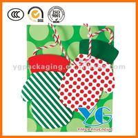 Large Christmas Gift Tote Gift Paper Bag handmade craft bag