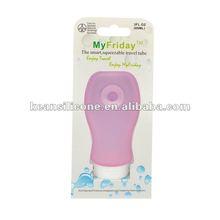 2012 new design Travel Shampoo Bottle/Skin Care Airless Bottle/Skin care bottle