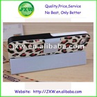 Leopard PU leather stand case for iphone 5 with factory price
