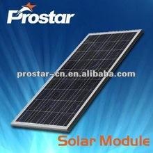 poly pv solar panels 12v 100w