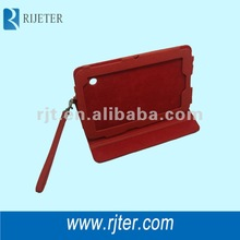2012 perfectly simple PU leater material case for ipad case