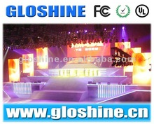 Stage Concert LED Curtain Display Screen 18mm,Stage Background Led Display Screen for Concert ,rental using led screen