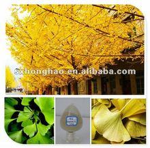 Pure Natural 24% Flavones UV Ginkgo Biloba L