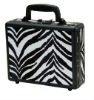 Quality zebra aluminum gun case/pistol case/shotgun case