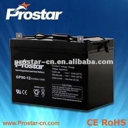 sealed lead acid rechargeable exide ups battery 12v 120ah