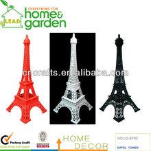 Hotsale Colorful Spray Paint Eiffel Tower Home Decoration