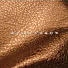 100% PU Leather Embossed Shoe Leather (cuerina para calzado)