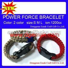 promotional item classic basketball team BULLS paracord bracelet