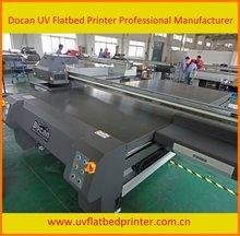 High Speed wide format outdoor signage flatbed uv inkjet printer plotter