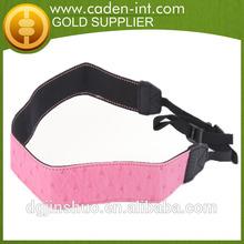 Fashion Comfortable PU Camera Strap for Dslr Custom Guangzhou Factory