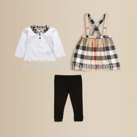 2015 New Baby Girl Clothing Set Winter Brand Set For Children Clothings 3Pcs/Set Pre-order Free Shipping P121101-10