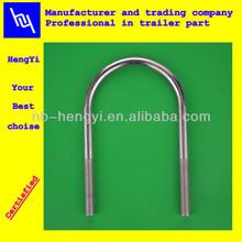 Environmental protection electric galvanize M10 full thread U type bolt