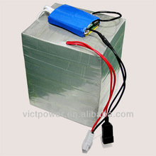 customized 72v 40Ah LiFePO4 Battery pack for electric vehicle with BMS and 10A charger
